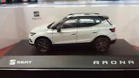SEAT ARONA 1/43. SEAT COLLECTION. COLOR NEVADA WHITE.