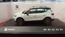 NOVEDAD. SEAT ARONA 1/43 SEAT COLLECTION. COLOR BLANCO.