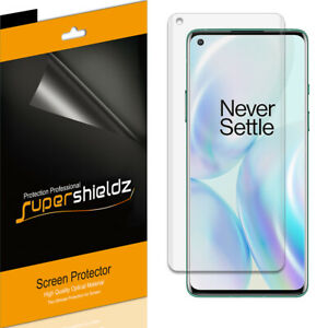 [2-Pack] Supershieldz Clear Screen Protector for OnePlus 8