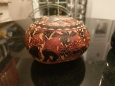 Antique Carved and Burnt Squash