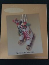 Hallmark Keepsake Ornament Club Exclusive Skating To And Fro