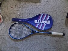 MANTA Infinity E.X.T. 62  SQUASH RACQUET in GREAT SHAPE with head cover!