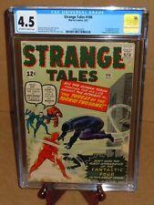 💎Strange Tales #106 CGC 4.5 (VG+) 1963 Marvel Comics 1st App Acrobat Carl Zante