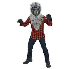 Hungry Howler Werewolf Costume Halloween Fancy Dress Childrens Boys 8-10 Years