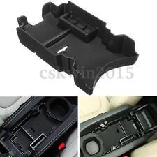 Black Car Central Console Armrest Storage Box For Honda Civic 10th Gen 2016 2017