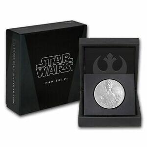 2016 STAR WARS CLASSICS: Han Solo - 1oz SILVER COIN