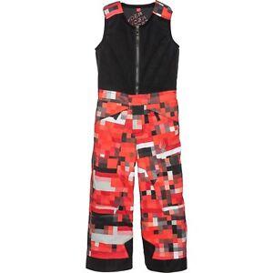 Spyder Kids Mini Expedition Bib Pants, Snow Pants, Size 4 Toddler Boys, NWT