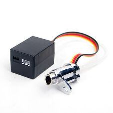 Scale 1:10th  RC Car Alum Electronic Simulation Smoking Exhaust Pipe