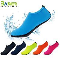Sportwear aqua shoes beach water walking shoes soft underwater sock Black/Red