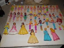 Large Lot- over 300 pieces Polly Pocket & others dolls, clothes, animals, lots m