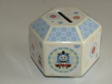 Coalport - Thomas the Tank Engine Hexagonal Money Box Ceramic New