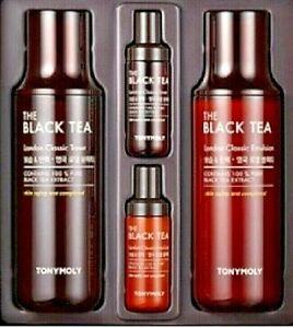 Tonymoly The Black Tea London Classic Toner Emulsion Special Aging Wrinkle Set