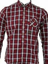 BNWT Mens Duck And Cover Gibson Red Check long sleeve shirt - Small