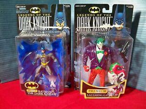 Legends of The Dark Knight action Figure lot Batman The Dark Knight & The Joker
