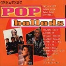 Greatest Pop Ballads Paula Abdul, Billy Idol, Talk Talk, Divinyls, Cultur.. [CD]