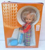 Bambola Mirella lucida pavimenti anni 70 sebino polistil politoys vintage doll