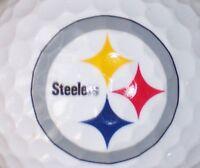 1 Dozen (Steelers Logo) Noodle Mix  Mint /AAAAA Golf Balls