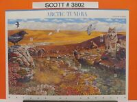 Scott # 3802 - Nature of America - Arctic Tundra - Sheet of (10) 37 Cent Stamps
