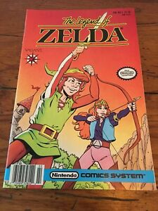 LEGEND OF ZELDA #1 1st print VALIANT 1990 nintendo comics system