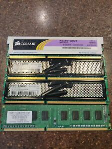 DDR3 Ram Sticks various, 8GB