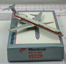 New Vintage Schabak 904/43 MARTINAIR Douglas DC-9-80 Diecast 1:600 scale