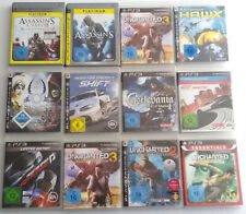 PS3 Playstation 3 Sony Uncharteg Need for Speed Castlevania Assassin's Pal