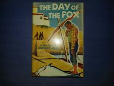THE DAY OF THE FOX by Norman Lewis / 1955 / DJ, HC
