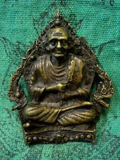 Phra Somdej Toh 2 Naga Powerful Talisman Old Yantra Thai Buddha Amulet Rare