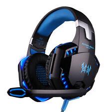 HOT!  2017 EACH G2000 Gamer Gaming Headsets & Microphone Gamer Razer MSN Skype