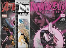THUNDERBOLTS LOT OF 3 - LIFE SENTENCES & BREAKING POINT 1-SHOTS, REASSEMBLED #1