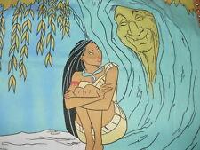 Vintage bedding Kinderbettwäsche  Disney Pocahontas Großmutter Weide 2 tlg