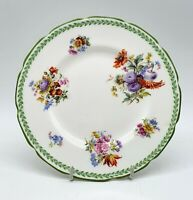 Vintage Royal Doulton side plate - Flowers design - Perfect condition - No H2432