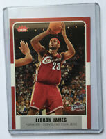 Lebron James 2008 Fleer #12. Mint Condition Card. Cleveland Cavaliers.