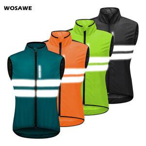 Men Cycling Windproof Vest MTB Road Team Bike Rides Sportswear Sleeveless Jacket