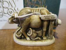 Harmony Kingdom Harmony Bull Cows and Bulls Uk Made Box Figurine