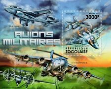 SUKHOI Su-57/T-50 & F-22 RAPTOR Air Superiority Fighter Aircraft Stamp Sheet