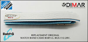 Replacement Original Watch Band Casio Baby-G BGX-112.2BV