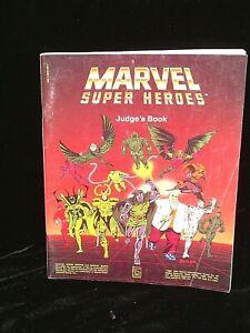 Marvel Super Heroes Judge's Book