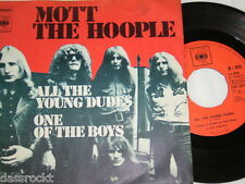 """7"""" - Mott the Hoople / All the young Dudes & One of the Boys - 1972 # 0085"""