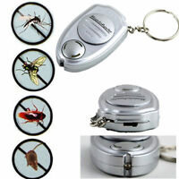 Outdoor Portable Mosquito Ultrasonic Anti Insect Repellent Repeller Key Clip