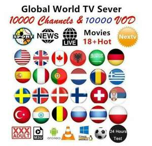 IP.TV 1 Year Subscription (STB ✔️ FireIP.TV 1 Year SubscriptiStick✔️M3U✔️SMART T