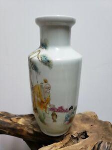 Fine Chinese Familie Rose Porcelain Vase
