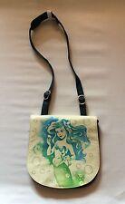 Disney Parks Disney Boutique Little Mermaid Ariel Canvas Crossbody Purse / Bag