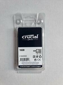 Crucial 16GB DDR4 3200 MHz SODIMM Laptop Memory Ram