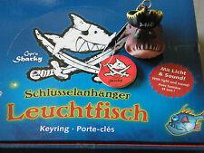NEU Schlüsselanhänger Leuchtfisch Capt`n Sharky Spiegelburg