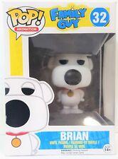 Funko Pop Brian Griffin # 32 Family Guy Vinyl Figure New