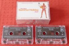 THE BEST SUMMER HOLIDAY...EVER! - UK CASSETTE TAPE X 2 - VARIOUS ARTISTS