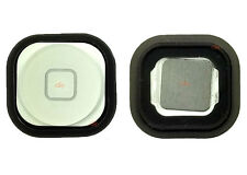 REPLACEMENT HOME BUTTON WITH RUBBER GASKET FOR IPOD TOUCH 5 5th GENERATION WHITE