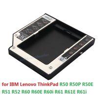 2nd SSD HDD Hard Drive Caddy for Lenovo ThinkPad R60 R61 R60E R60i R61E R61i