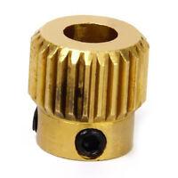 MK8 Extrusora conducir los dientes de engranaje 26 de cobre de 11 x 11 mm F J9P7